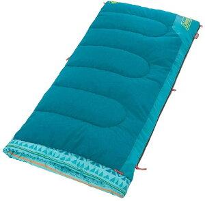 コールマン 子供用寝袋 封筒型 ブルー 子ども用寝袋 丸洗い 収納袋付き 約1.33kg Coleman YOUTH COMFORT SMART SLEEPING BAG コンパクト ブルー