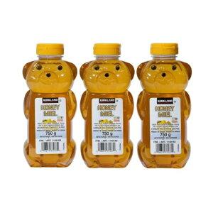 【3本セット】KIRKLAND(カークランド) カークランド 100%カナディアンハニー(蜂蜜・はちみつ・ハチミツ)750g カナダ産ハニー コストコ COSTCO