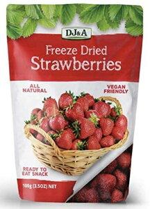 DJ&A フリーズドライ ストロベリー 100g ドライフルーツ いちご フルーツ 果物 コストコ コストコ通販 costoco 食品 おやつ