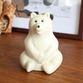【予約4月上旬〜中旬】【正規品】 Polar Bear Money Box しろくま貯金箱 |白くま貯金箱 シロクマ貯金箱 フィンランド ちょきんばこ PLASTEP Nordea Bank MK Tresmer MKTresmer プレゼント ギフト 雑貨 熊 おしゃれ クローネ 貯金箱