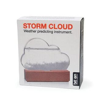 ストームグラスクラウドbittenビッテンビトゥンストームグラス結晶雲くも天気予報天気天候予測機器誕生日予報インテリアオブジェ置物ギフトプレゼント男性夏休み自由研究サイエンス科学理科かわいいおしゃれメンズstormcloud
