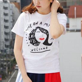 Welcome! Come on a my town Tシャツ | 福岡Tシャツ ご当地Tシャツ お土産 メンズ レディース キッズ 子供 半袖 カットソー ロゴ ロゴT LOGO TEE パロディー おもしろ 人気ブランド 小さいサイズ 大きいサイズ ビックサイズ対応 ギフト プレゼント