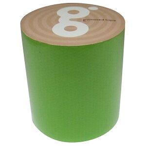 【あす楽対応・送料無料】古藤工業 - Monf ガムテープバッグサブ 蛍光緑(50mm×5m)
