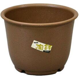 【あす楽対応・送料無料】アップルウェアー陶鉢 輪型7号きん茶