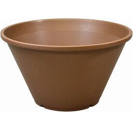 【あす楽対応・送料無料】アップルウェアー陶鉢 寄型440きん茶