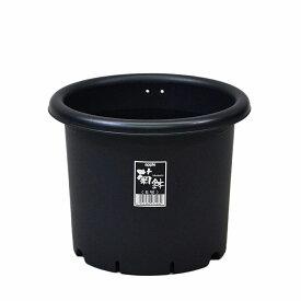【あす楽対応・送料無料】アップルウェアー菊鉢 6号ブラック