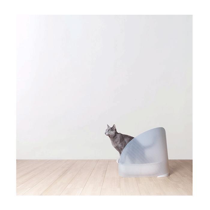 猫砂やオシッコの飛び散りを防ぎます[正規品]OPPO(オッポ) ToiletScreen(トイレスクリーン)[全2色]【猫 トイレ 砂 ガード 飛び散り防止】