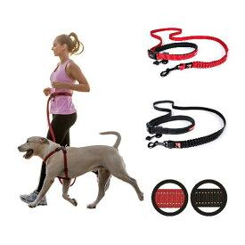 [メール便対応可][腰に巻けるリード] EZY DOG イージードッグ ロードランナー [全2色]【犬 リード ランニング 散歩 大型犬】