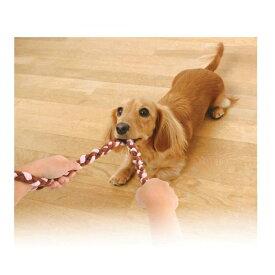 【メール便対応可】引っ張りっ子ロープ アドメイト ロープトーイ チュロス ストロベリー Sサイズ【全2種】【犬/おもちゃ/ロープ】