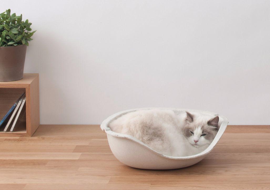 猫ちゃんのドーム型隠れ家!! [正規品]OPPO (オッポ) CatShell (キャットシェル) 1個入【猫 ベッド ドーム型 おしゃれ】