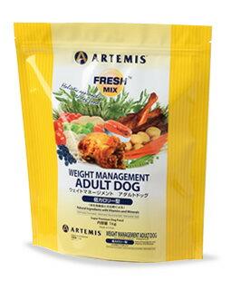正規品 ARTEMIS アーテミス ドックフード フレッシュミックス ウェイトマネージメント アダルトドッグ 1kg 【成犬/肥満犬/去勢犬/ダイエット/減量用/体重管理/低脂肪/低タンパク/低カロリー】