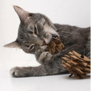 予測不能の猫用おもちゃ hauspanther ハウスパンサー エコ・スタッカー(2コセット) 【猫/おもちゃ/段ボール】