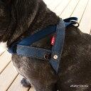 EZY DOG プレミアム デニム コレクション クイックハーネス Lサイズ イージードッグ【犬/ハーネス/胴輪/犬用/】