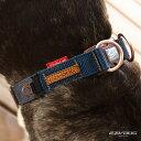EZY DOG プレミアム デニム コレクション ダブルロックカラー Mサイズ イージードッグ【犬/ハーネス/首輪/犬用/】