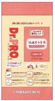 ニチドウ Dr.PRO ドクタープロ ドッグフード ラム&オートミール 小型成犬用 6kg  【犬/ドッグフード/アダルト/アレルギー】