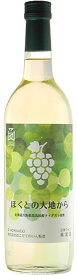 ほくとの大地から〜北海道大野農業高校産ナイアガラ〜720mlはこだてわいん(函館ワイン)やや甘口 白ワイン 日本ワイン GI北海道認定農業高校 高校生