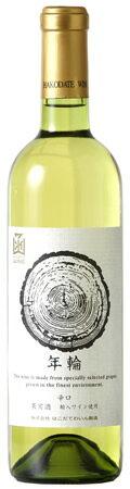 年輪白720mlはこだてわいん(北海道函館ワイン)辛口 白ワイン