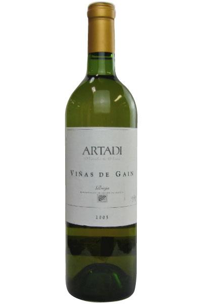 ヴィニャス・デ・ガイン アルタディ ビアンコ【2005】750ml(スペインワイン)(白ワイン )VINAS DE GAIN ARTADI 2005 750ml