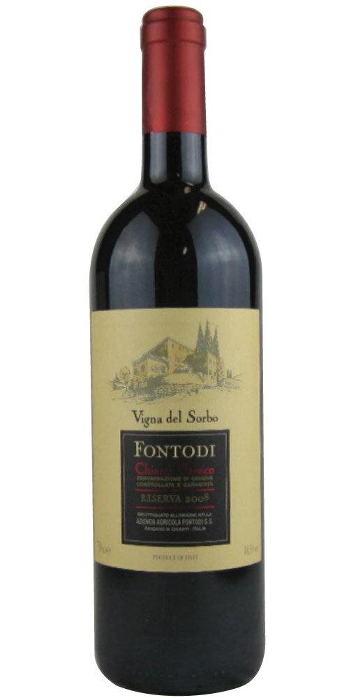 フォントディ キャンティ・クラシコ・リゼルヴァ ヴィーニャ・デル・ソルボ 2008 750ML (イタリアワイン)(赤ワイン)
