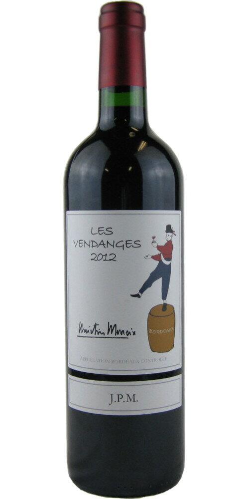 ジャン・ピエール・ムエックス レ・ヴァンダンジュ 750ml(フランスワイン)(赤ワイン)