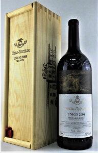 【スペイン・赤】ウニコ ボデガス ベガ シシリア 2008 マグナム1500ml UNICO Bodegas Vega Sicilia Magnum(赤ワイン)ホームパーティ:家飲み:大きい:ビッグボトル:通常の2倍サイズ