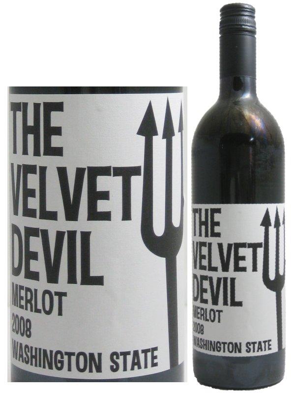 チャールズ・スミス ベルベット・デビル メルロー 【赤ワイン】 750ml CHARLES SMITH WINES THE VELVET DEVIL MERLOT