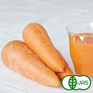 [有機栽培] ジュース用ふぞろいにんじん (8kg)