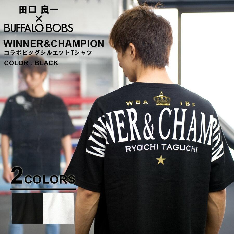 WINNER & CHAMPION-BIG コラボビッグシルエットTシャツ