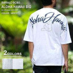 [提前預訂點數10倍]BUFFALO BOBS水牛鮑勃ALOHA HAWAII BIG T(夏威夷襯衫夏威夷大的T)大的輪廓T恤