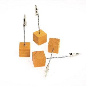 ウッド カード スタンド オレンジ メニュースタンド プライススタンド POPスタンド おしゃれ プチギフト プレゼント 値札立て カードスタンド ポストカード インテリア