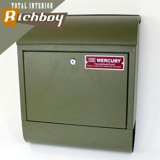 MERCURY墨丘利MCR Mail Box邮筒垫子橄榄