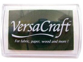 スタンプ台 バーサクラフト Lサイズ エメラルド 緑 布用スタンプパッド インクパッド 水性顔料インク ツキネコ VK-121