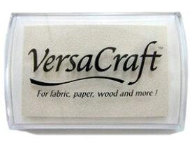 スタンプ台 バーサクラフト Lサイズ ホワイト 白 布用スタンプパッド インクパッド 水性顔料インク ツキネコ VK-180