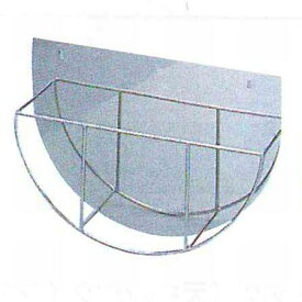 18-8丸盆ラック壁掛式(16インチ用)[TO-691M]