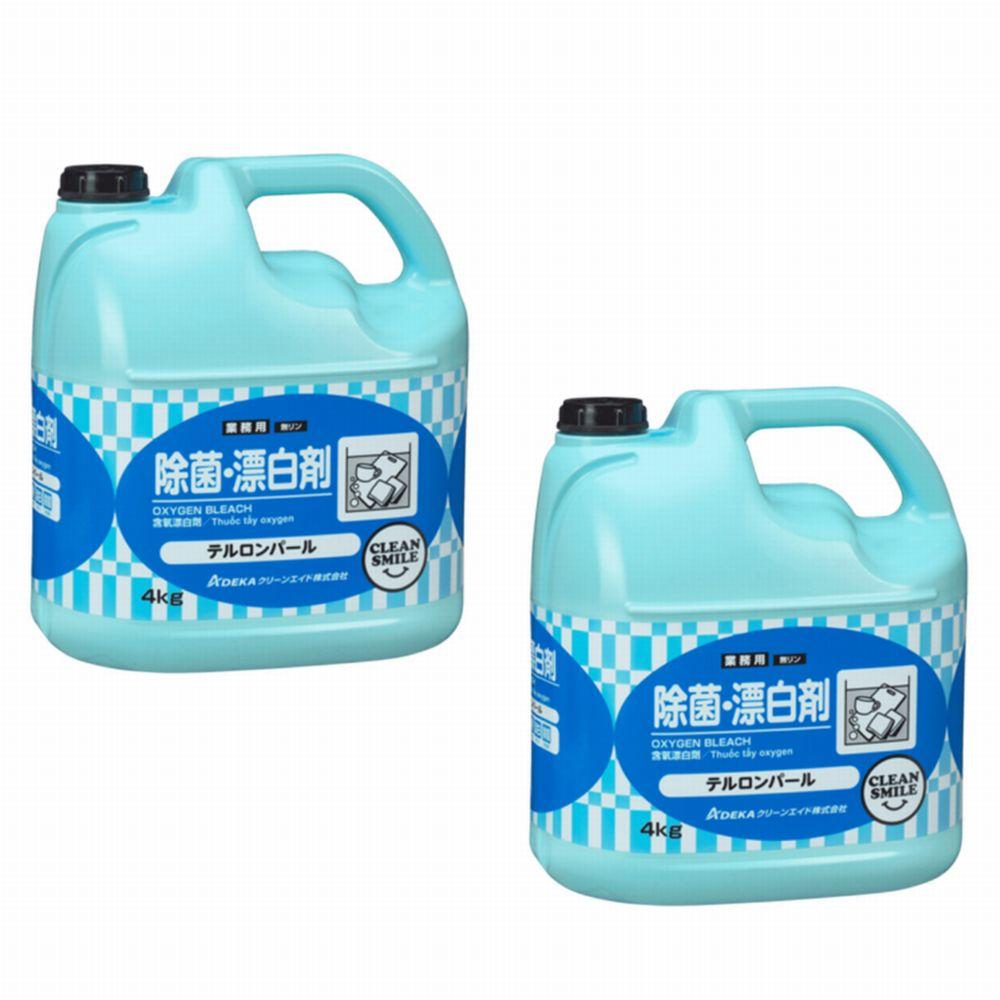 【酸素系漂白・洗浄剤】テルロンパール 希釈[顆粒 4kg×2]