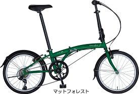 2020年 DAHON International SUV D6 エスユーヴィー 折りたたみ自転車 ダホン 20インチ コンパクト 約13.7kg 防犯登録付