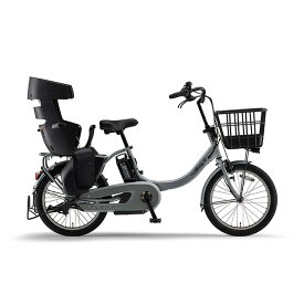 YAMAHA 2021年モデル 幼児2人同乗基準適合 電動自転車 PAS Babby un SP (パス バビーアンSP) PA20BSPR-SGY ソリッドグレー 20インチ