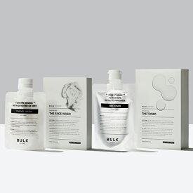 【楽天ランキング1位】THE FACE WASH&THE TONER(洗顔料・化粧水セット)フェイスウォッシュ&トナー|メンズスキンケア BULK HOMME(バルクオム)