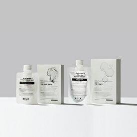 【バルクオム公式】THE FACE WASH&THE TONER(洗顔料・化粧水セット)フェイスウォッシュ&トナー|メンズスキンケア メンズコスメ 男性用化粧水 BULK HOMME(bulkhomme)