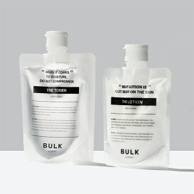 【バルクオム公式】THE TONER&THE LOTION(化粧水 乳液セット|メンズスキンケア コスメ 保湿 乾燥 BULK HOMME(bulkhomme)