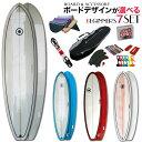 ◆激得◆ファンボード6'8 選べるボードの初心者セット●サーフボード【SCELL】 サーフィン 初心者7点SET ステップアップモデル