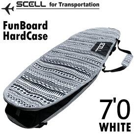 サーフボードケース 7'0 ハードケース ファンボード SCELL サーフィン 希望小売価格の50%OFF