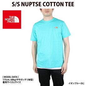 THE NORTH FACE ノースフェイス Tシャツ メンズ 夏 S/S NUPTSE COTTON TEE