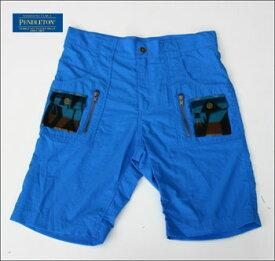 PENDLETON ペンドルトン ショートパンツ NYLON CARGO SHORTS IM217-15643 BLUE※返品・交換不可