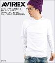 AVIREX アビレックス/アヴィレックス デイリー クルーネック長袖Tシャツ[6153481]【あす楽対応商品】