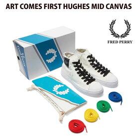 フレッドペリー/FRED PERRY スニーカー ART COMES FIRST HUGHES MID CANVAS【あす楽対応商品】【メガトンセール】