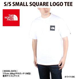 ノースフェイス 【THE NORTH FACE】 Tシャツ S S SMALL SQUARE LOGO TEE