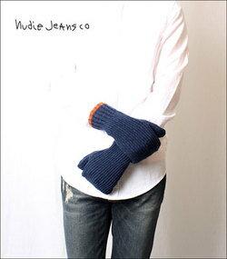 ヌーディージーンズ Nudie Jeans 手袋 HUNTERSSON RAW GLOW【あす楽対応商品】
