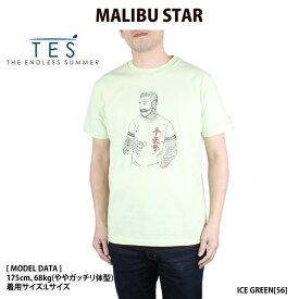 TES/テス/エンドレスサマー Tシャツ テス カリフォルニア サーフ マリブスター The Endless Summer MALIBU STAR-T