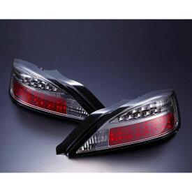 【D-MAX】S15 LEDテールランプ ウィンカーLEDタイプ(スモーク) SET